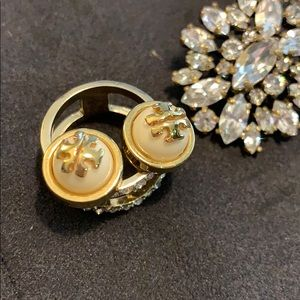 Authentic Tory Burch stud earrings
